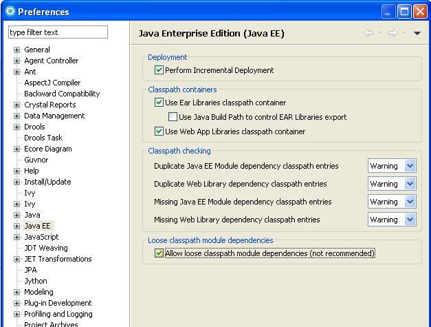WTP integration | Apache IvyDE™